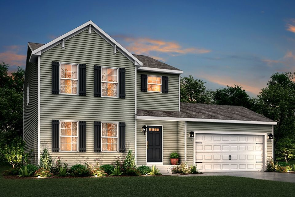 Ready To Build Home In Reverewood Community