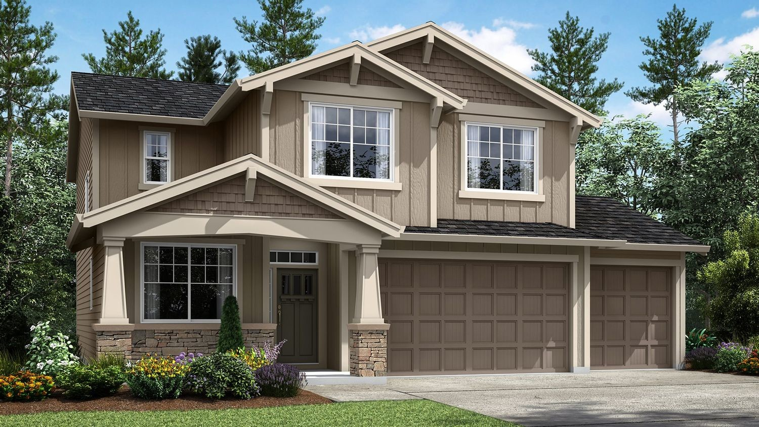 Move In Ready New Home In Brookside North Community