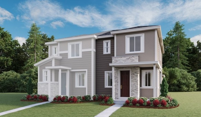 Ready To Build Home In Urban Collection at Briargate Square Community