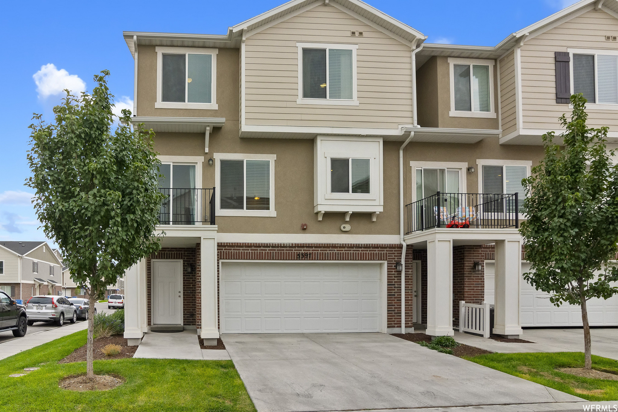 3-Story Townhouse In Fort Herriman