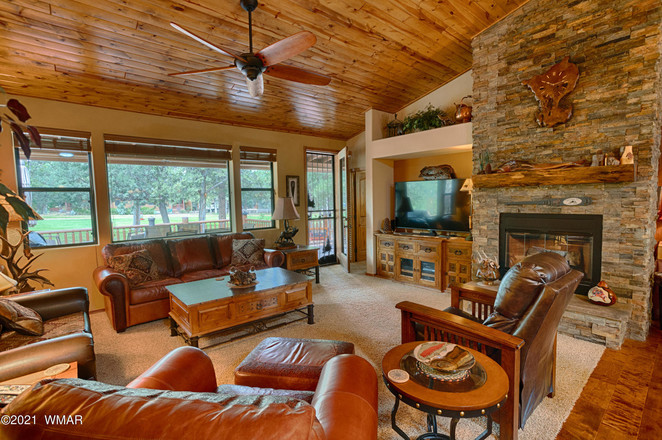 House In Retreat At Bison Crossing
