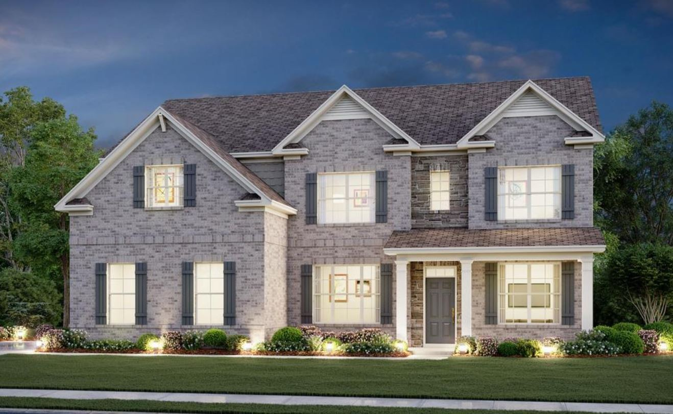 Move In Ready New Home In Southwind Community