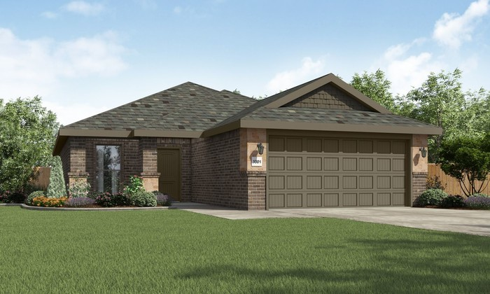 Move In Ready New Home In Upland Crossing Community