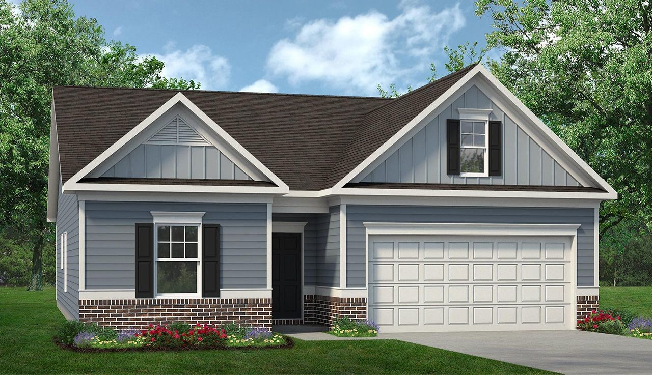 Ready To Build Home In The Stiles Community