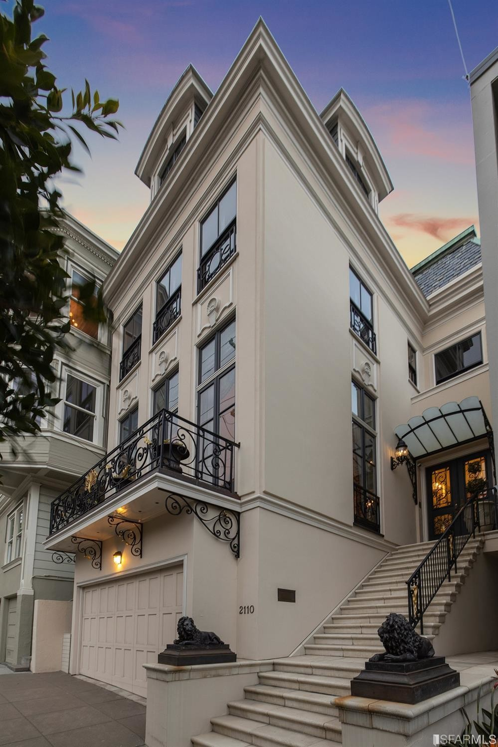 Chic 6-Bedroom House In Pacific Heights