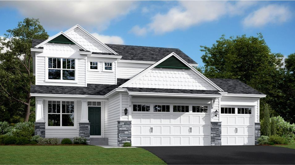 Move In Ready New Home In Oak Tree - Traditional Collection Community