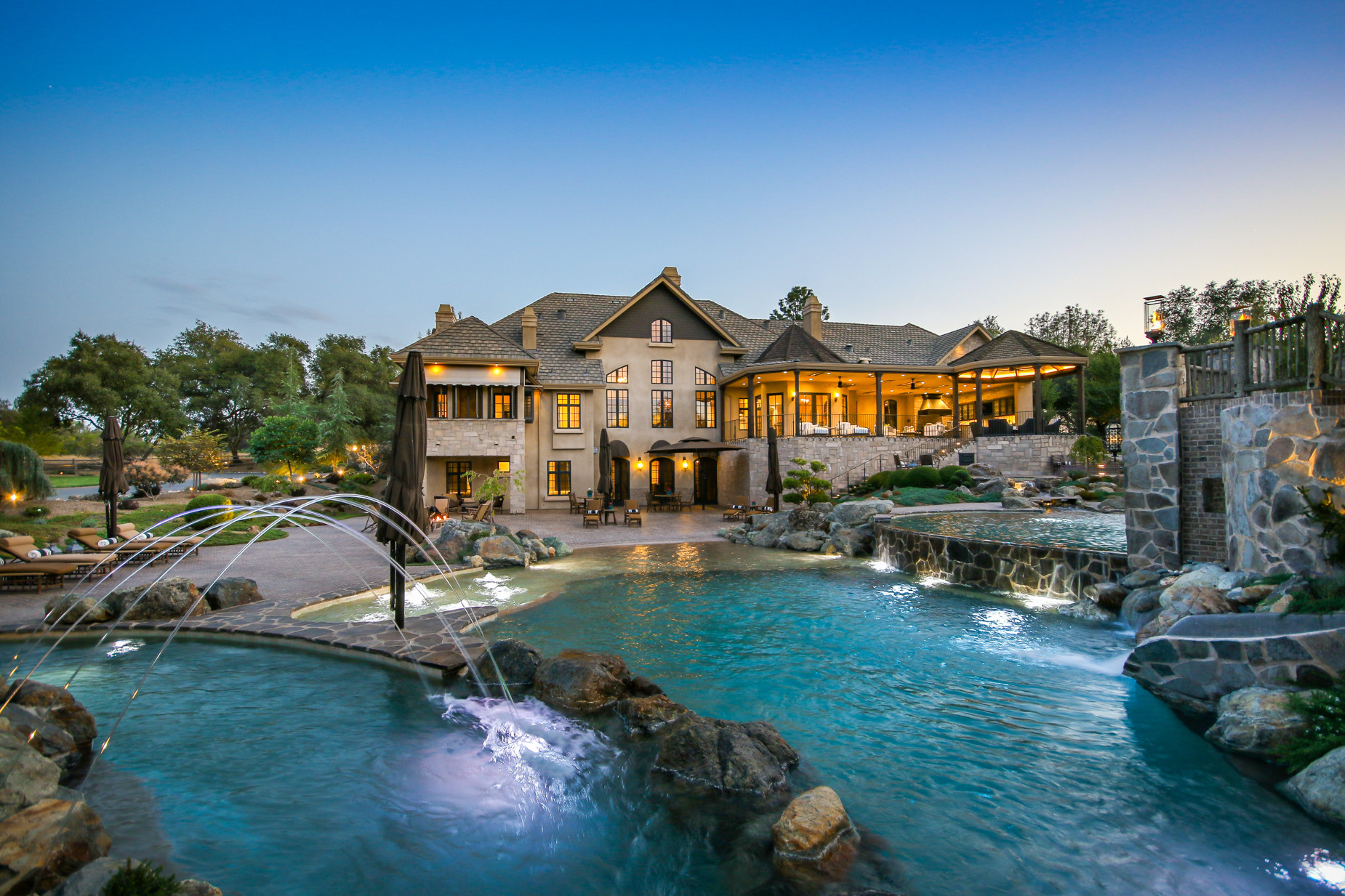 Sophisticated Private House