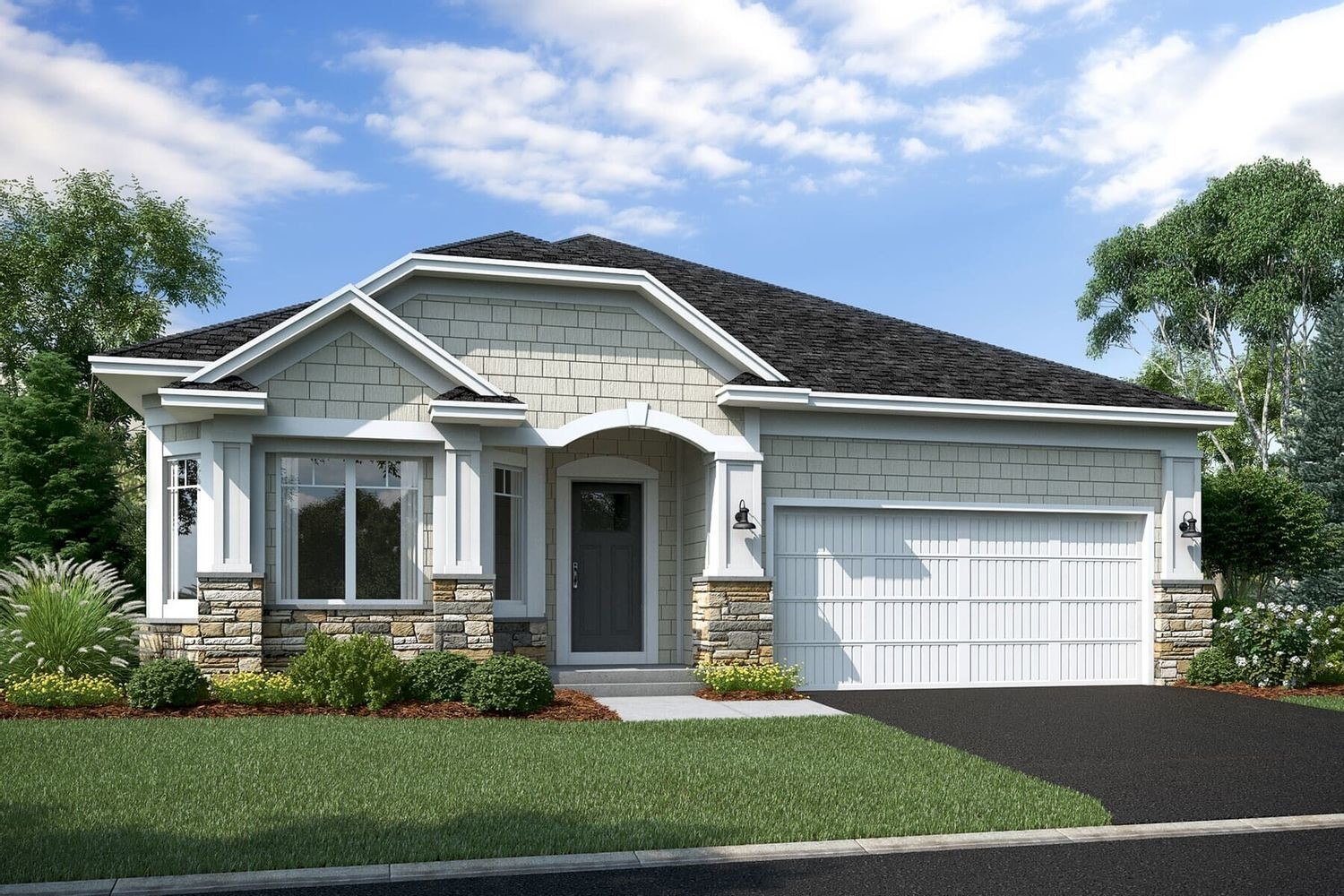 Move In Ready New Home In Bailey Meadows Community