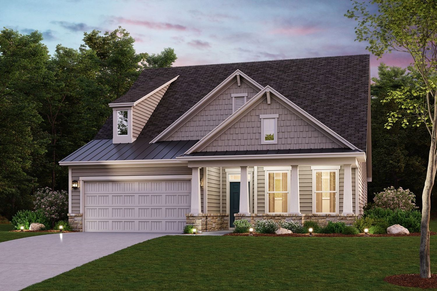 Move In Ready New Home In The Village at Hoschton Community