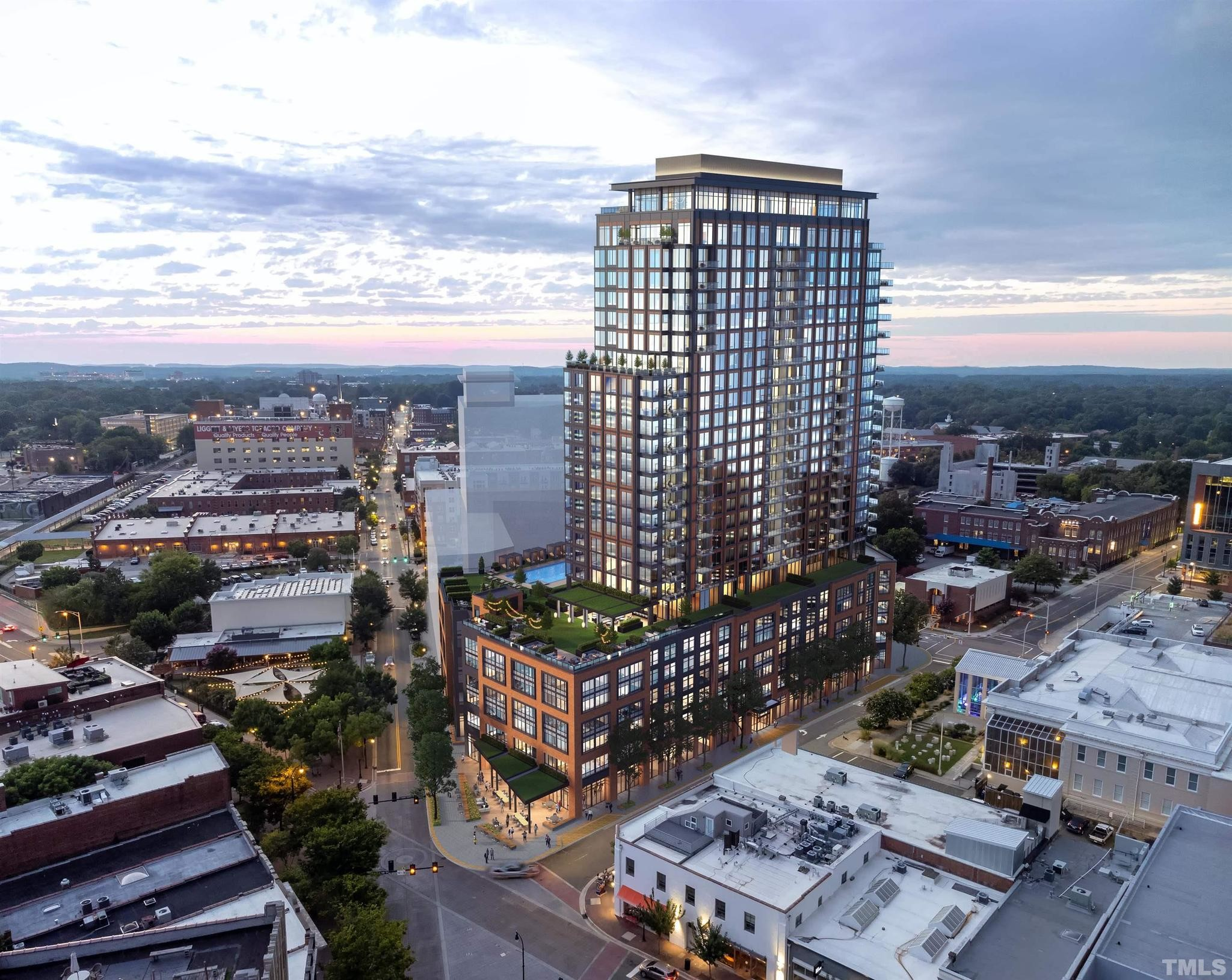 1-Story Condo In Downtown Durham
