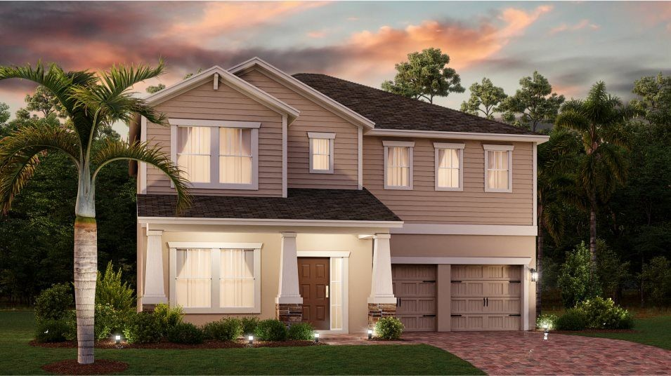 Move In Ready New Home In Hanover Lakes - Cottage Collection Community