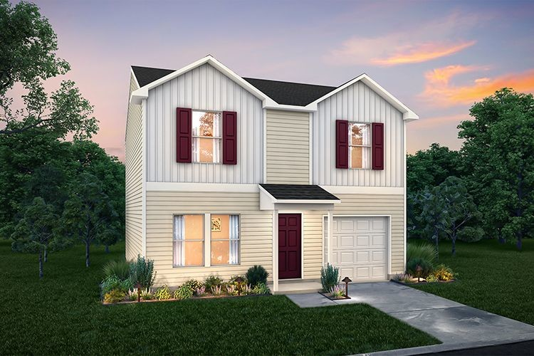 Move In Ready New Home In Genoa Crossing Community
