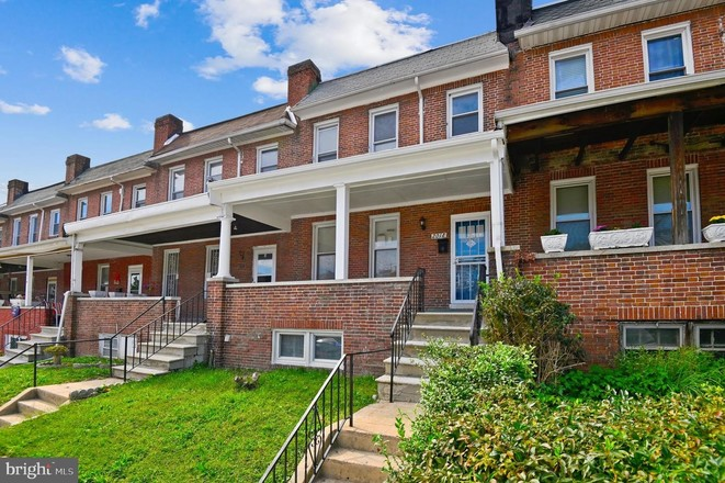 Renovated 3-Bedroom Townhouse In Mondawmin
