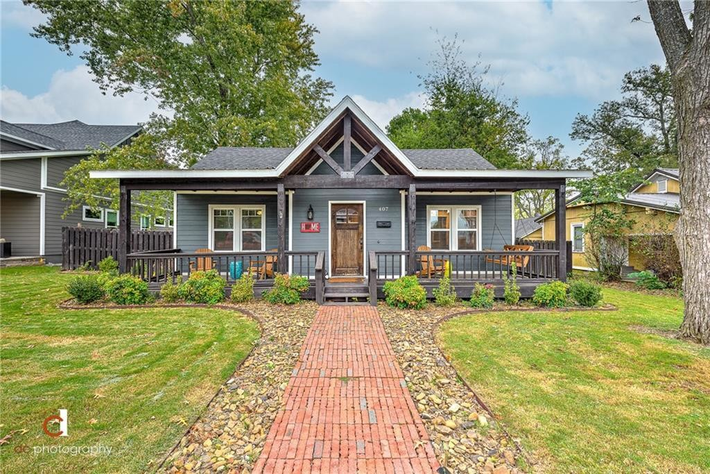 Renovated 3-Bedroom House In Downtown Bentonville