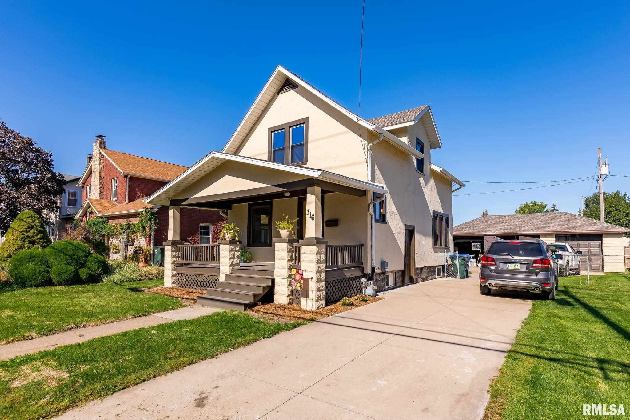 Updated 2-Bedroom House In Near North Side Davenport