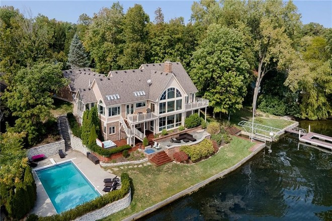 Updated Lakefront House