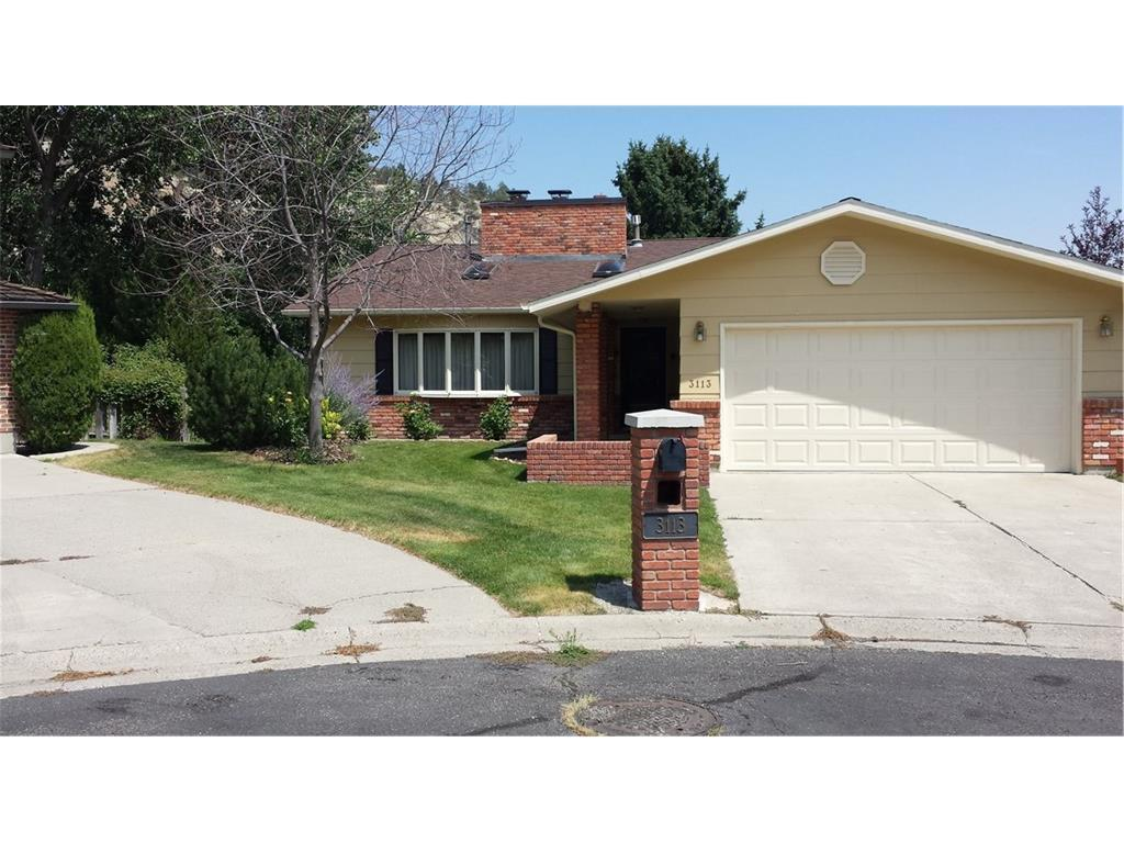 3113 ZINNIA DRIVE Billings MT 59102 id-185793 homes for sale