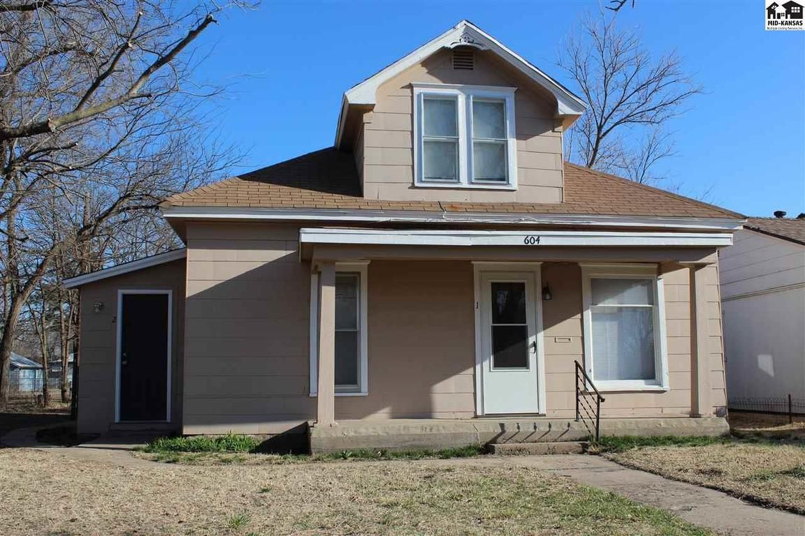 604 W 11TH AVE 604 1/2 W 11TH AVE Hutchinson KS 67501 id-327338 homes for sale