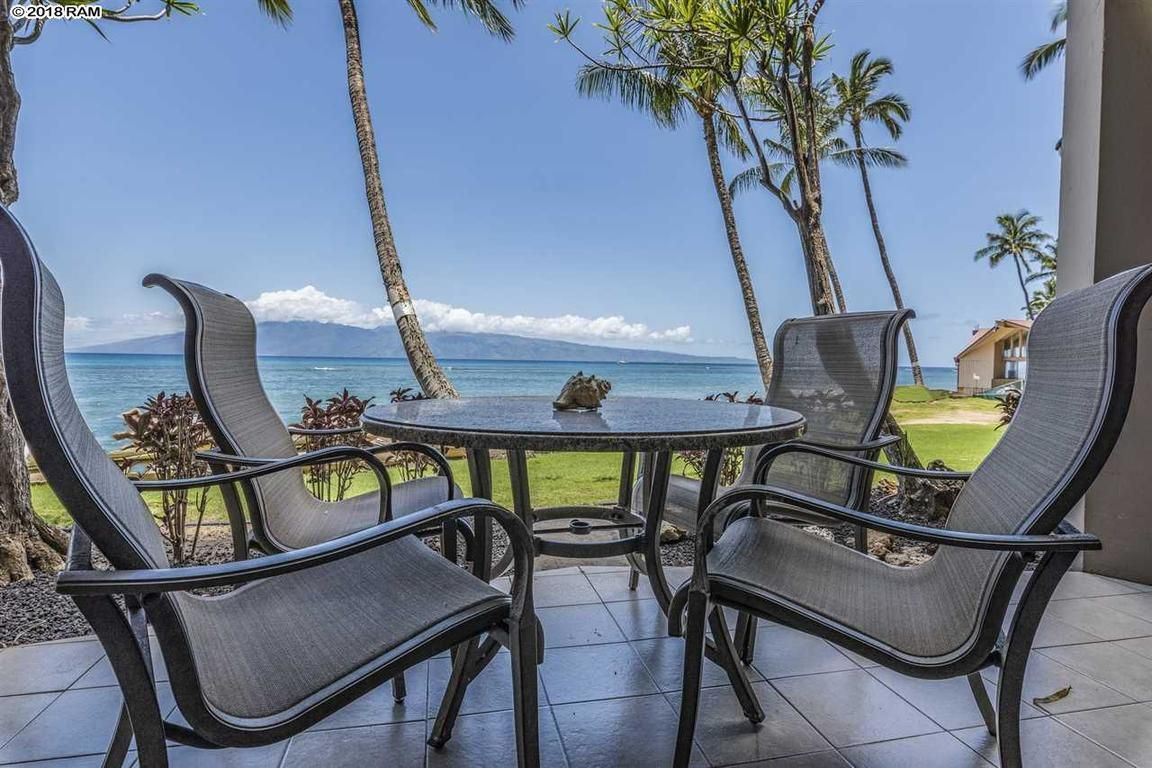 4327 LOWER HONOAPIILANI RD 109 Lahaina HI 96761 id-517733 homes for sale