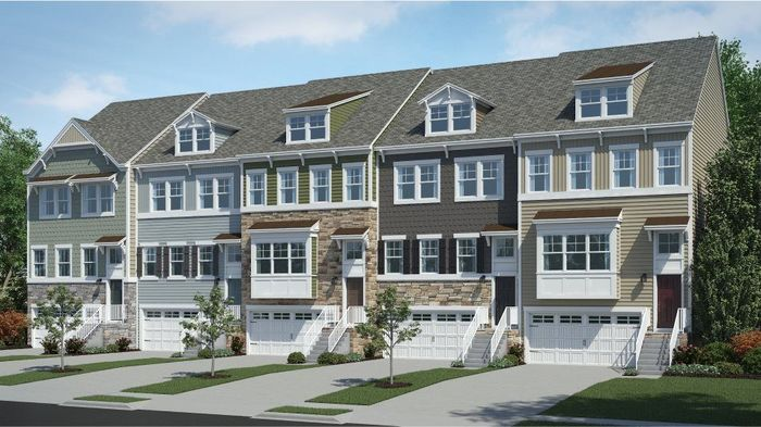 Move In Ready New Home In Plantation Lakes - North Shore Townhomes Community