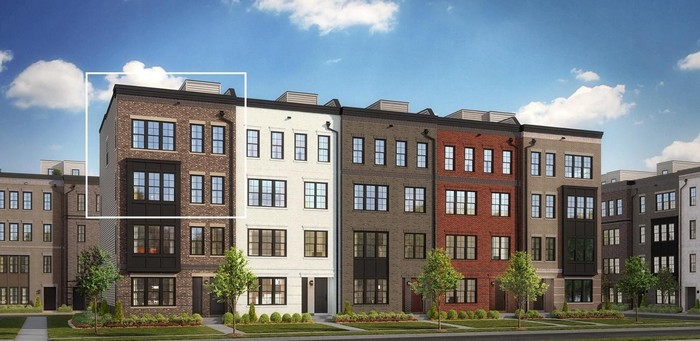 Move In Ready New Home In Metro Walk at Moorefield Station - Lofts Community