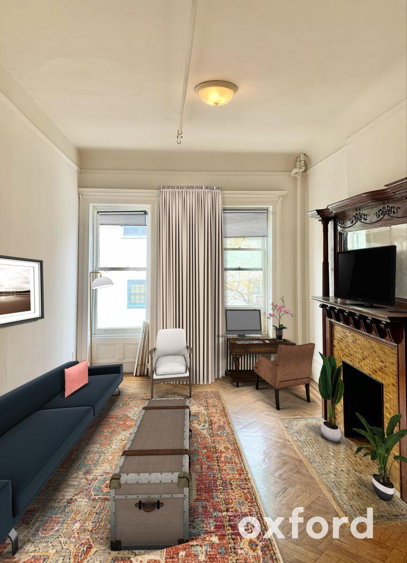 Renovated 1-Bedroom Townhouse In New York