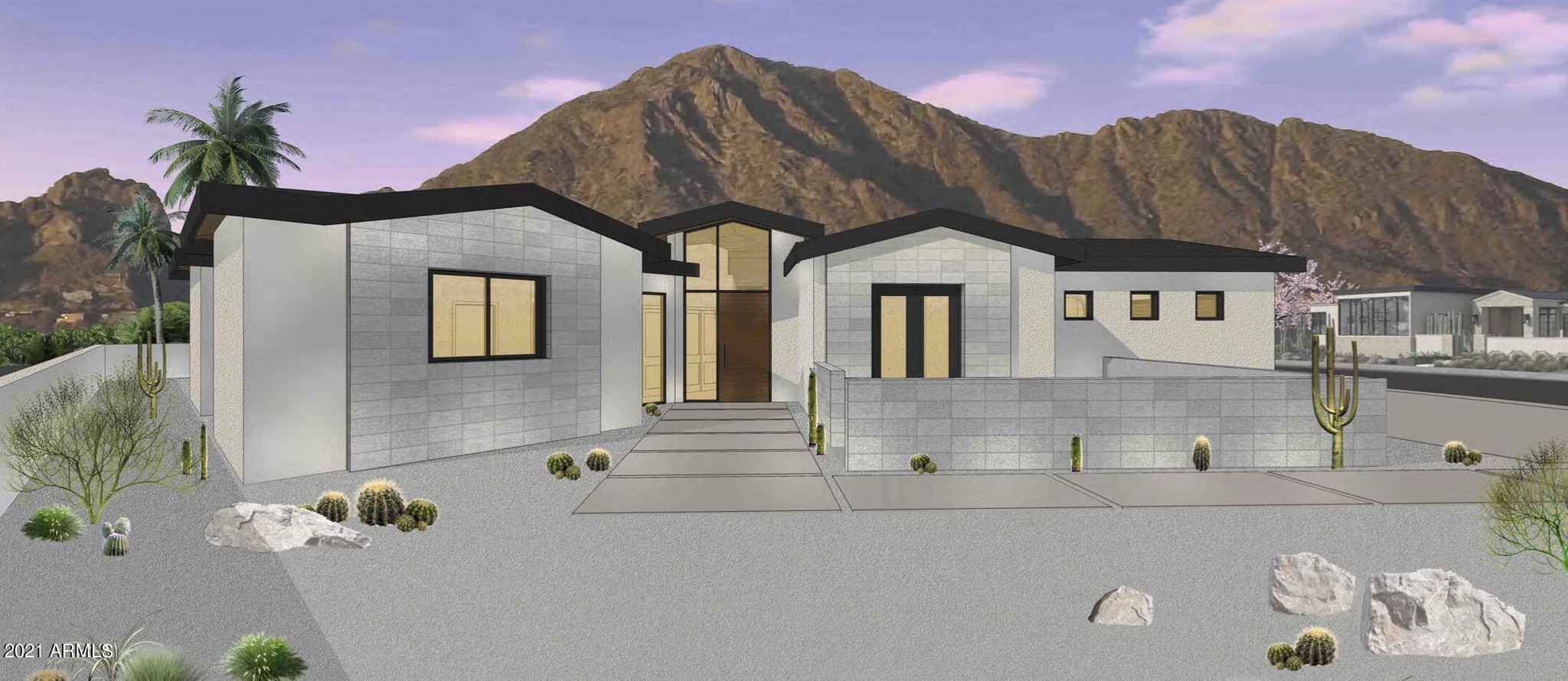 1-Story House In Paradise Valley