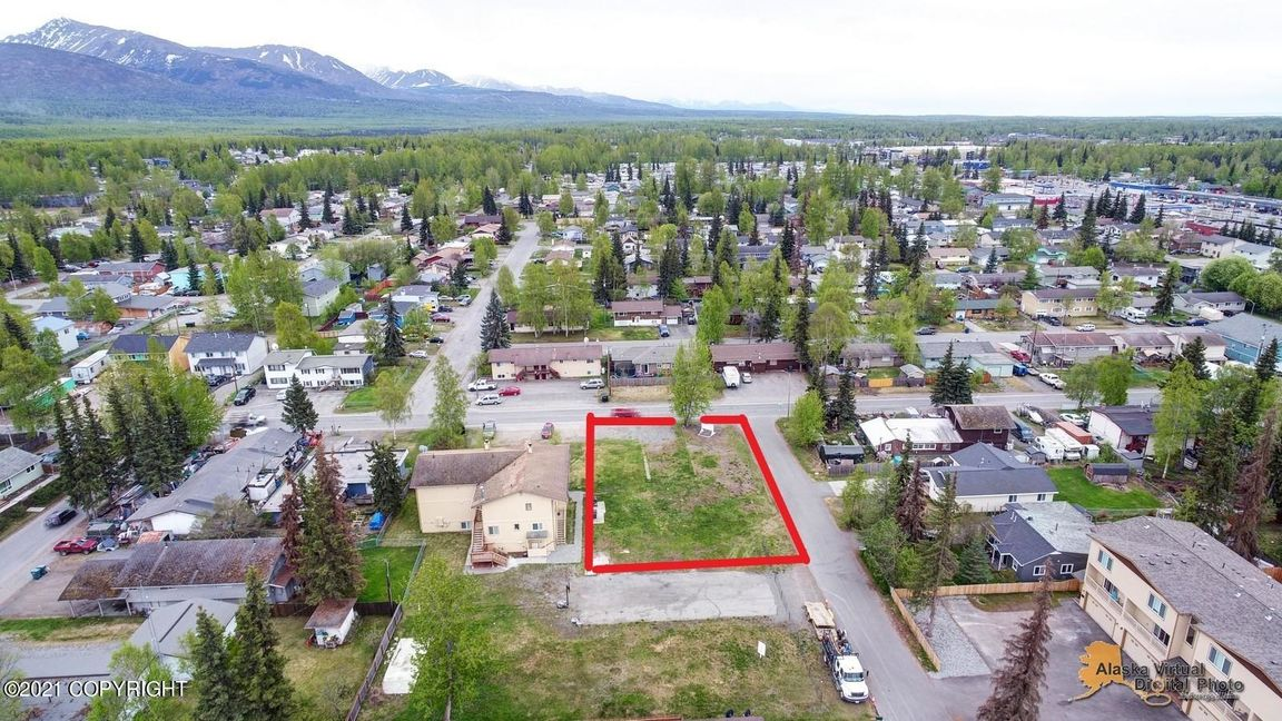Lot In Northeast Anchorage
