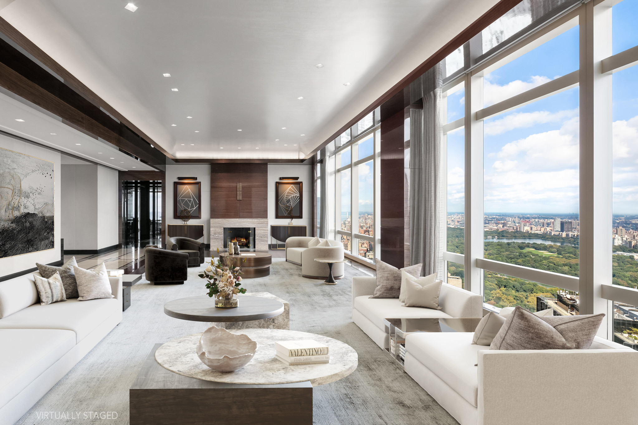 Private Penthouse With Fireplace