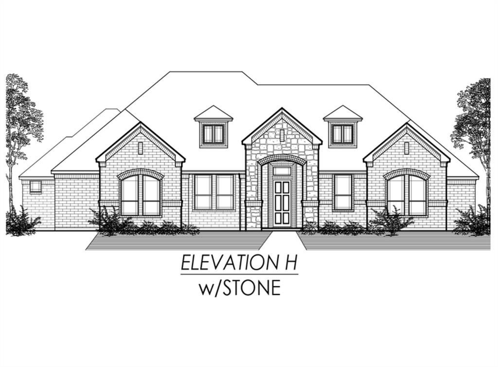 1-Story House In Waxahachie