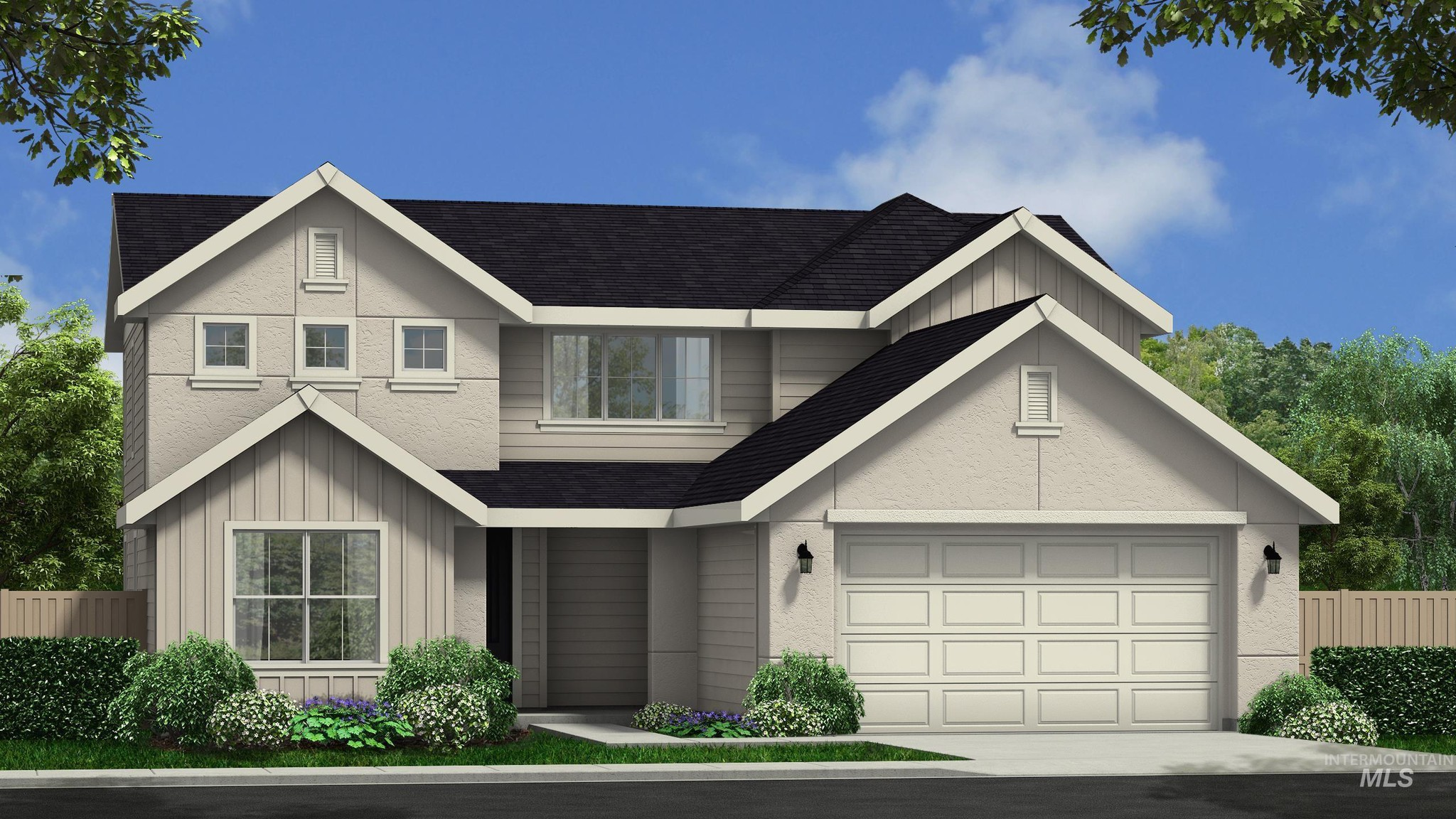 2-Story House In Nampa